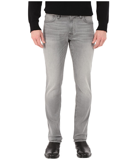 John Varvatos Star U.S.A. Bowery Fit Jeans with Zip Fly in Elephant J306R4B