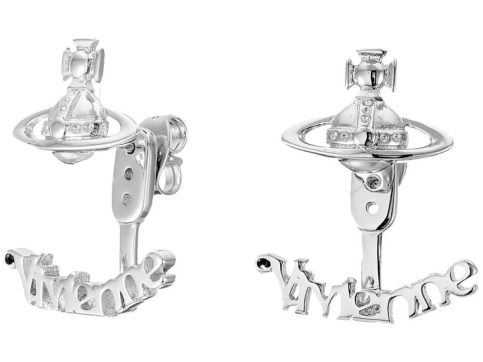 Vivienne Westwood - Toni Earrings (Rhodium) Earring