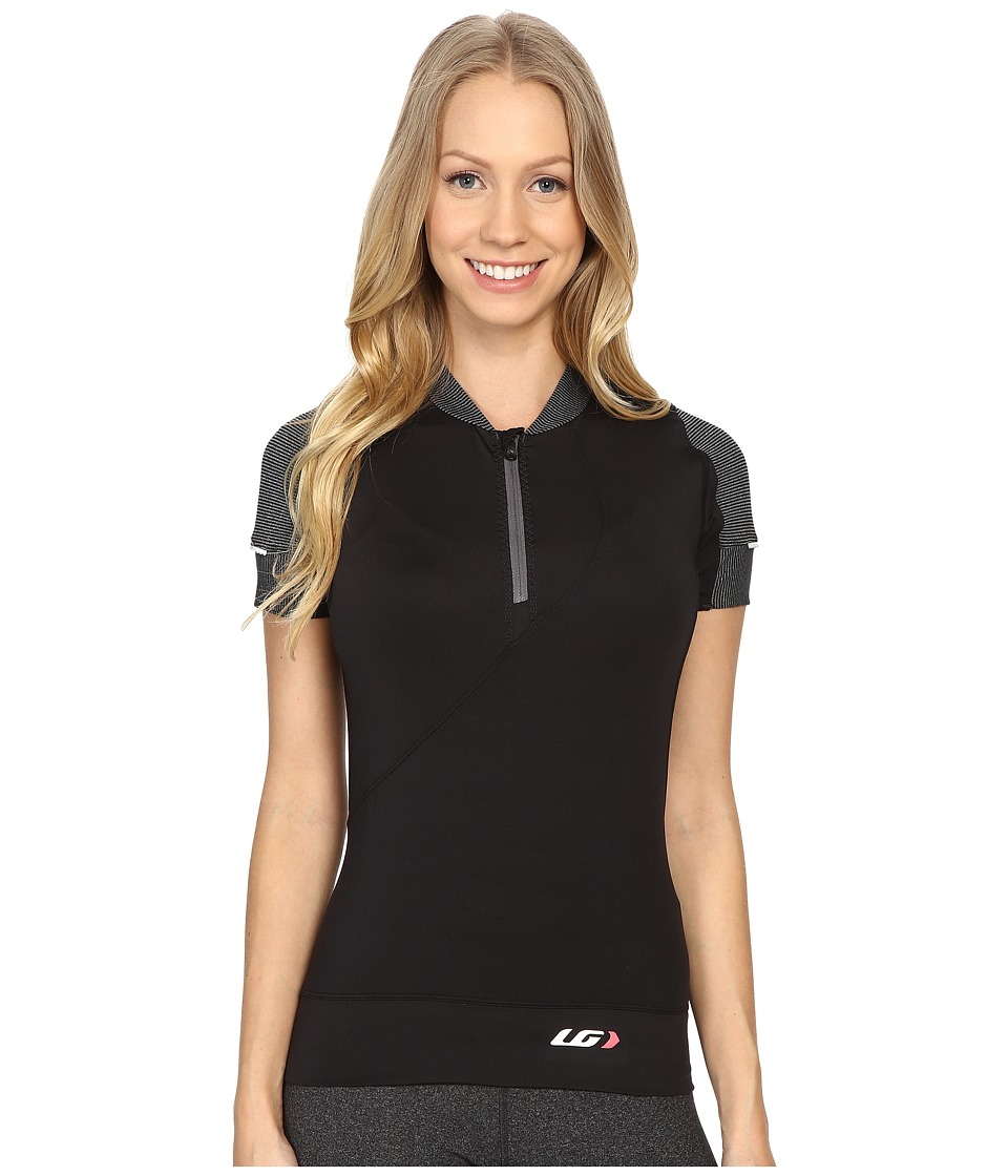 Louis Garneau - Gloria Jersey (Black) Womens Clothing