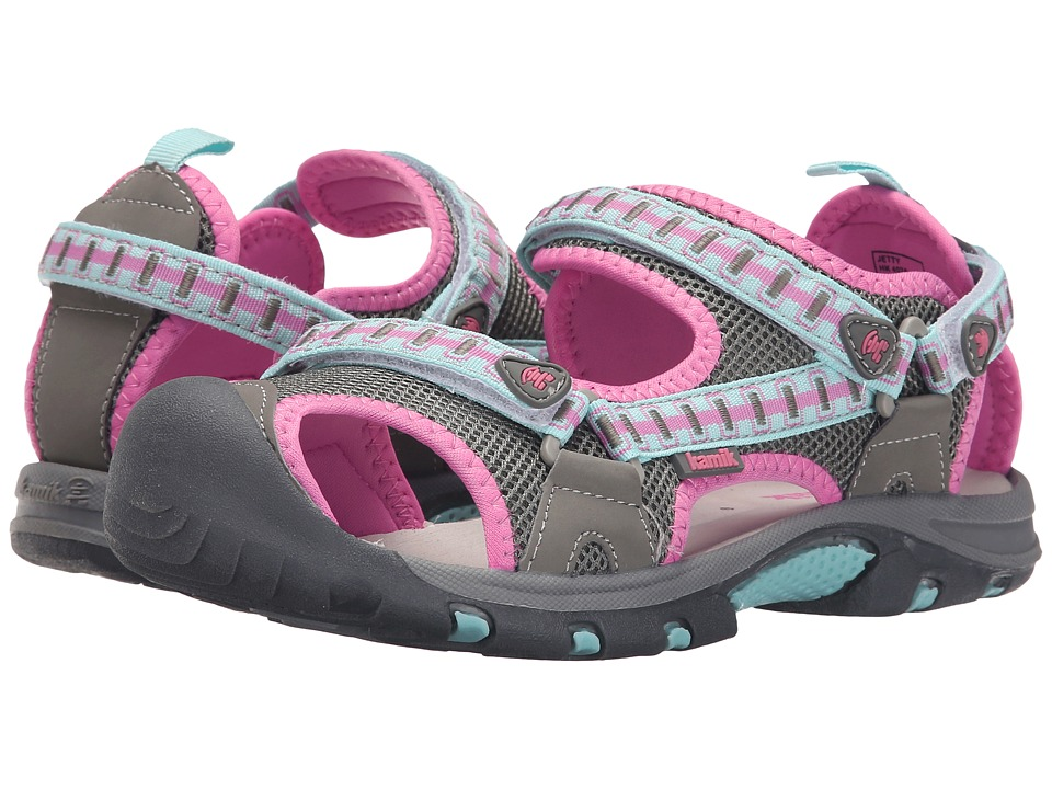 Kamik Kids Jetty 2 Little Kid/Big Kid Light Grey Girls Shoes