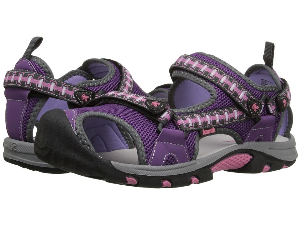 Kamik Kids Jetty 2 Little Kid/Big Kid Purple/Violet Girls Shoes