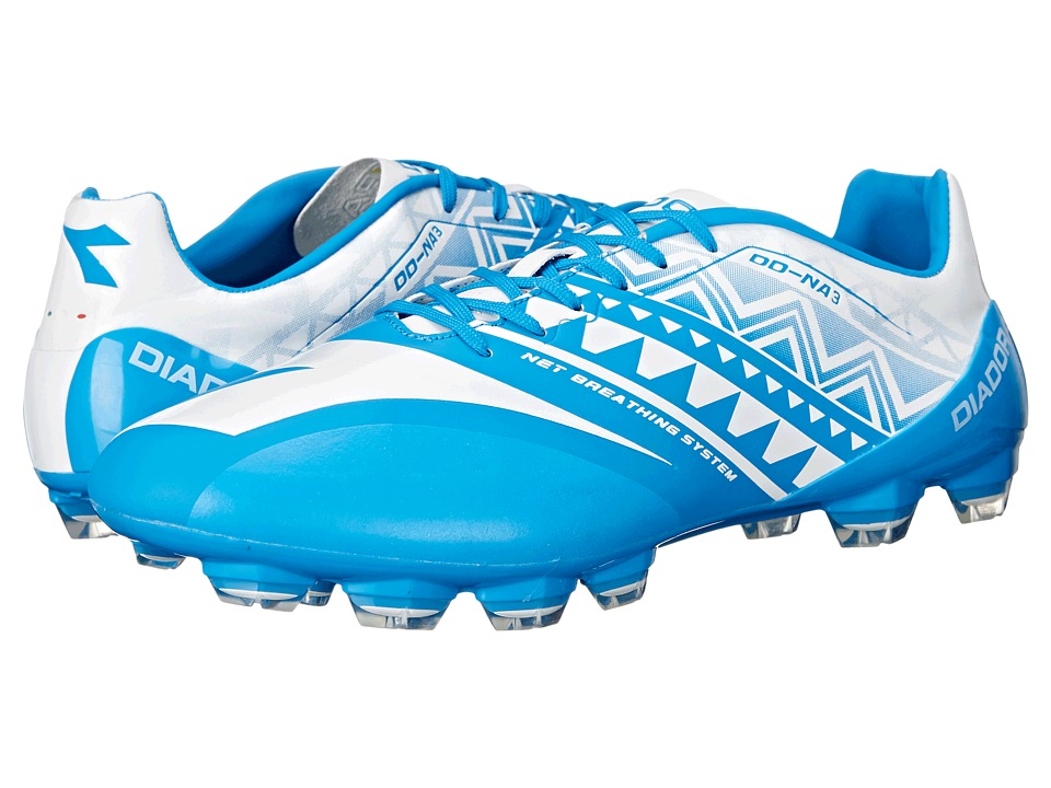 Diadora - DD-NA 3 GLX14 (Royal/White) Soccer Shoes