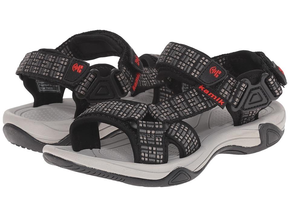 Kamik Kids Lowtide Little Kid/Big Kid Charcoal Boys Shoes