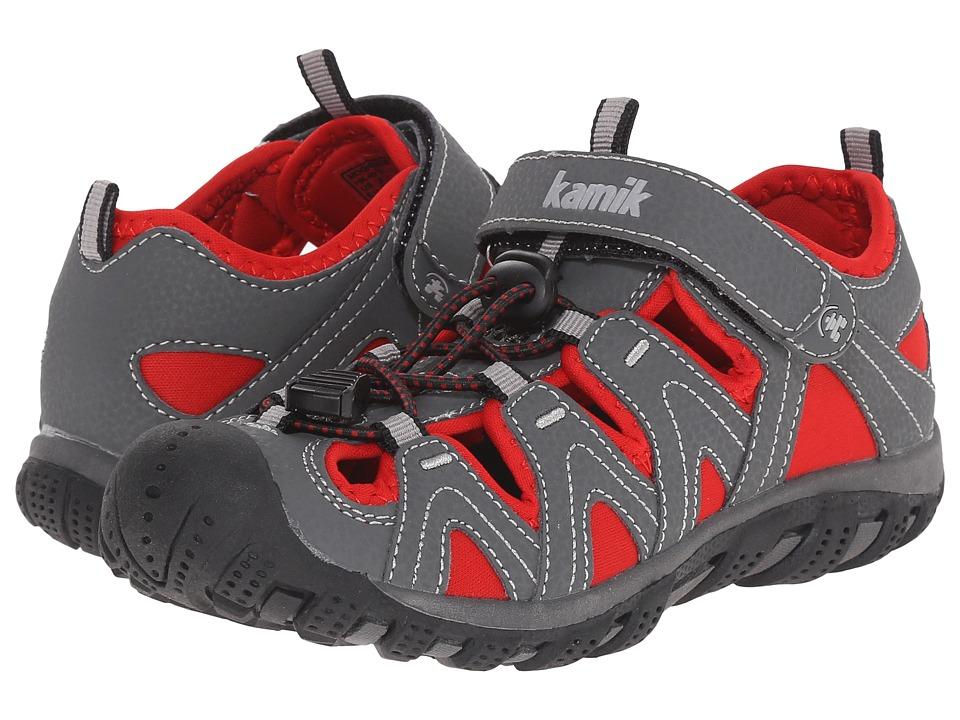 Kamik Kids Moorings Little Kid/Big Kid Red Boys Shoes