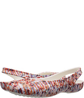 Crocs - Olivia II Striped Floral Flat