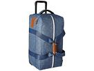Herschel Supply Co. Wheelie Outfitter (Limoges Crosshatch/Tan Leather)