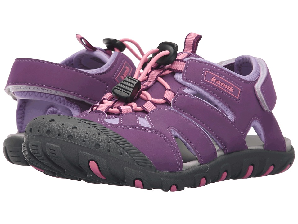 Kamik Kids Oyster 2 Toddler/Little Kid/Bid Kid Purple Girls Shoes