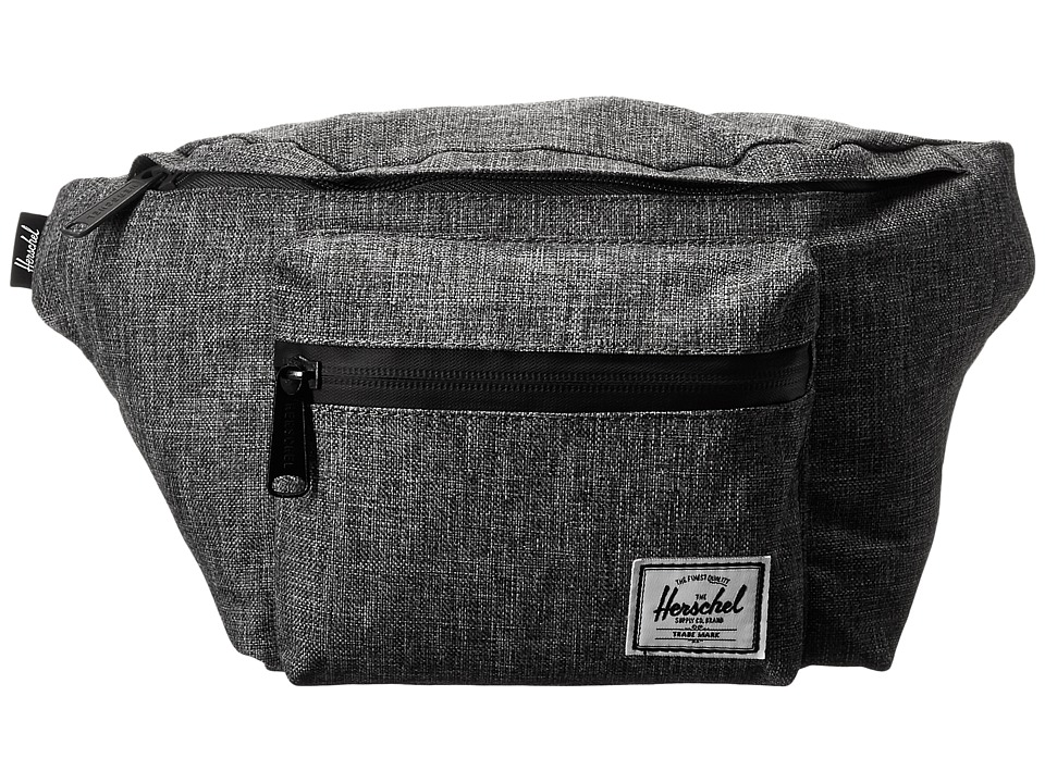 Herschel Supply Co. - Seventeen (Raven Crosshatch) Travel Pouch