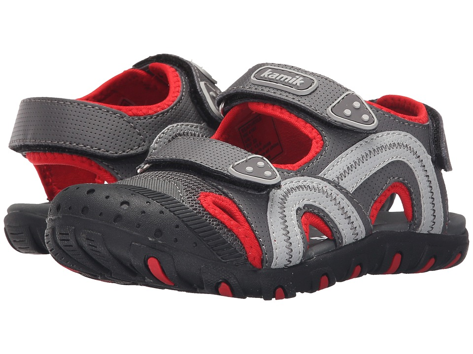 Kamik Kids Seaturtle Toddler/Little Kid/Big Kid Charcoal Boys Shoes