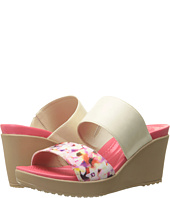 Crocs - Leigh II 2-Strap Graphic Wedge