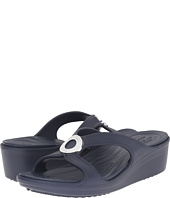 Crocs - Sanrah Beveled Circle Wedge Sandal