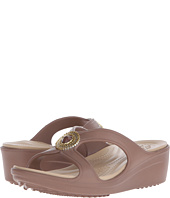 Crocs - Sanrah Beaded Wedge Sandal