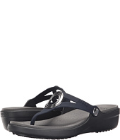 Crocs - Sanrah Beveled Circle Wedge Flip