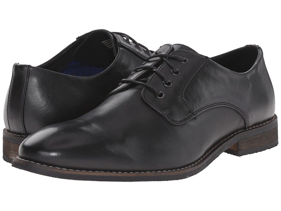 Nunn Bush Howell Plain Toe Oxford (Black) Men