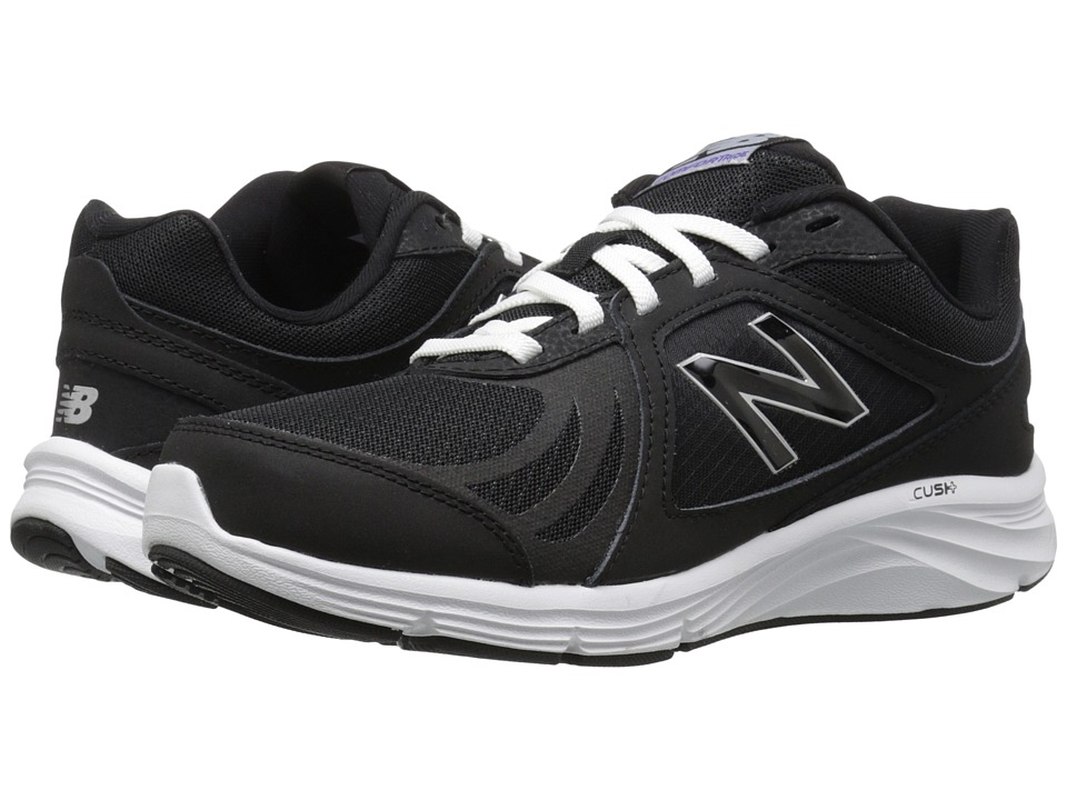 New Balance WW496v3 (Black) Walking Shoes