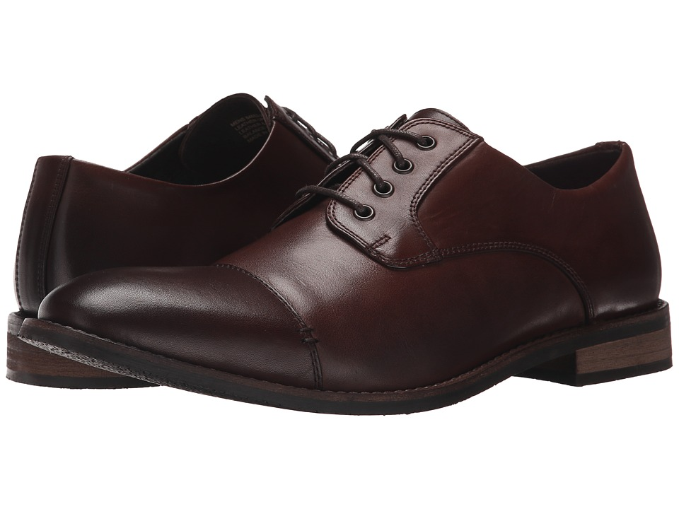 Nunn Bush Holt Cap Toe Oxford (Brown) Men