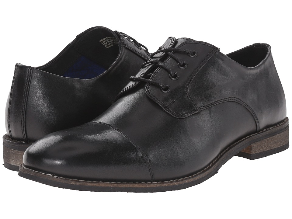 Nunn Bush Holt Cap Toe Oxford (Black) Men