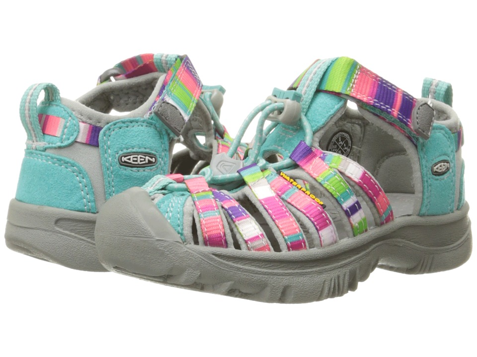 Keen Kids Whisper (Toddler/Little Kid) (Raya Fusion) Girls Shoes