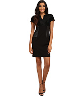 Calvin Klein - Short Sleeve Multi Media Sheath Dress