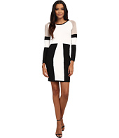 Calvin Klein - Color Block Sweater Dress