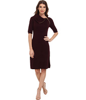 Calvin Klein - Short Sleeve Envelop Neck Dress