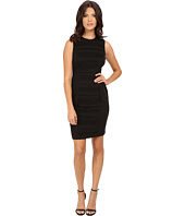 Calvin Klein - Sheath with Front Tucks Dress