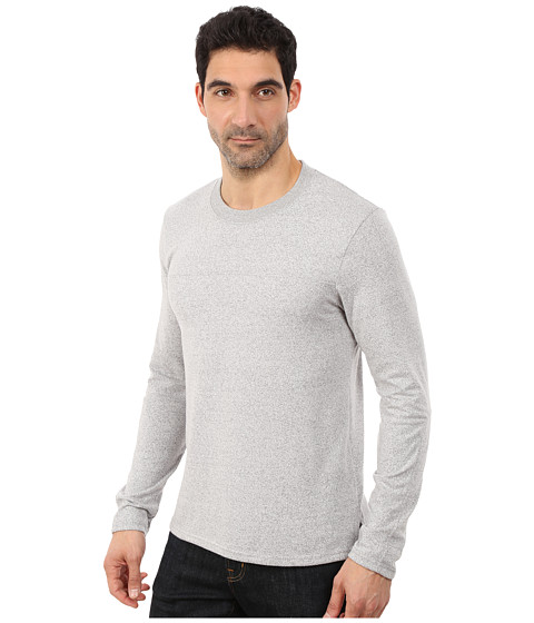 Alternative mock twist away game crew neck eco mock nickel for Mock crew neck shirts