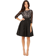 Calvin Klein - 3/4 Sleeve Flaired Skirt Dress