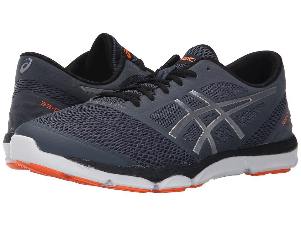 ASICS 33 DFA 2 Dark Slate/Silver/Orange Mens Running Shoes