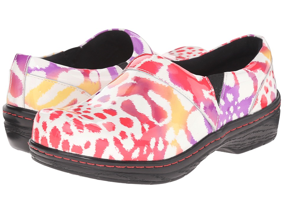 Klogs Footwear Mission Tigerberry Womens Clog Shoes