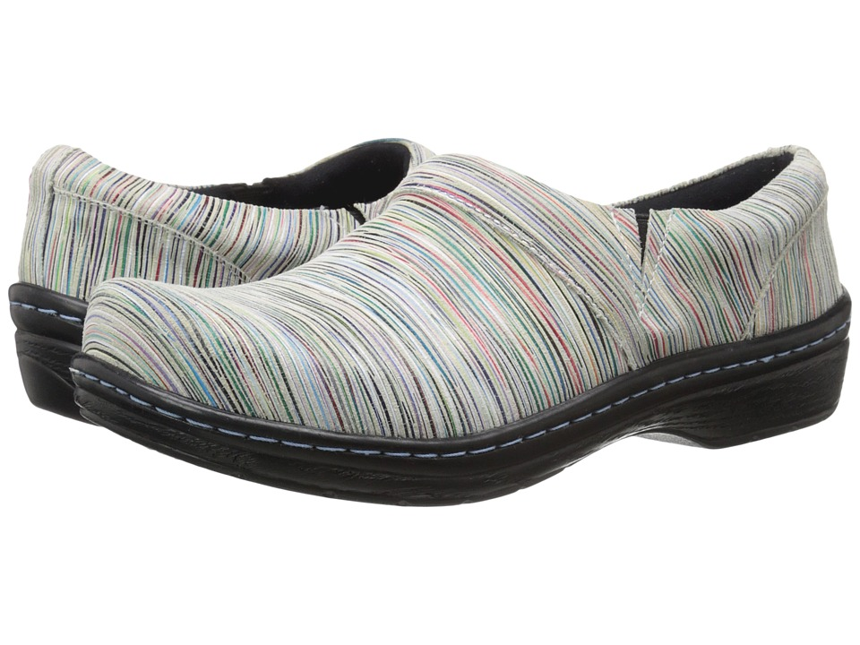 Klogs Footwear Mission Candy Stripe Womens Clog Shoes
