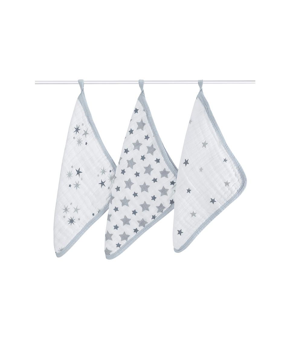 aden anais Muslin Washcloths Twinkle Bath Towels