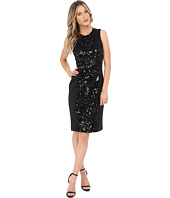 Calvin Klein - Sheath with Sequin Center Panel Dress