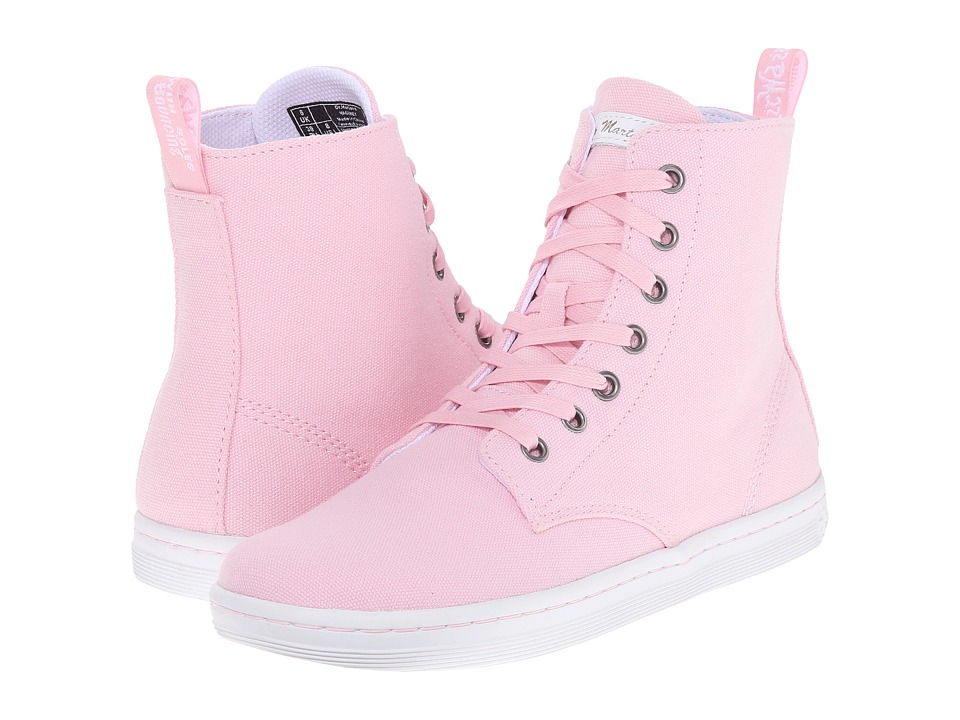 Dr. Martens Hackney 7 Eye Boot Bubblegum Canvas Womens Lace up Boots