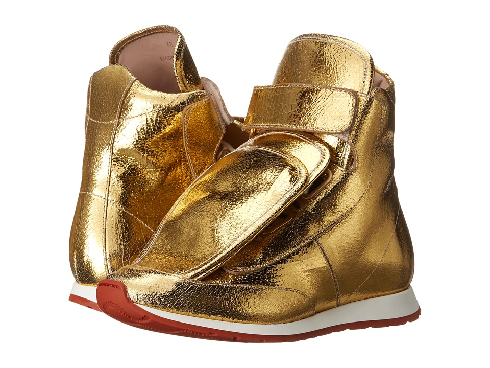 Vivienne Westwood 3 Tongue Trainer Gold Womens Shoes