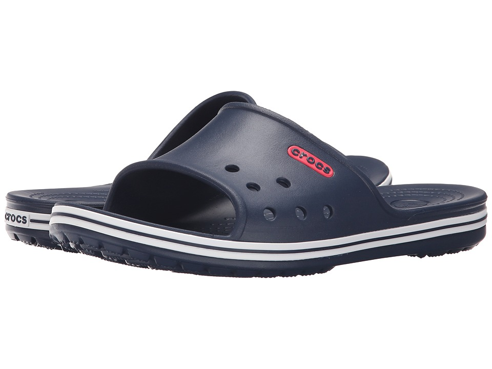 Crocs - Crocband LoPro Slide (Navy) Slide Shoes