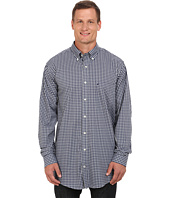 Nautica Big & Tall - Big & Tall Small Plaid Cotton/Tencel