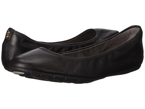 Cole Haan Zerogrand Stagedoor Ballet - Black Leather