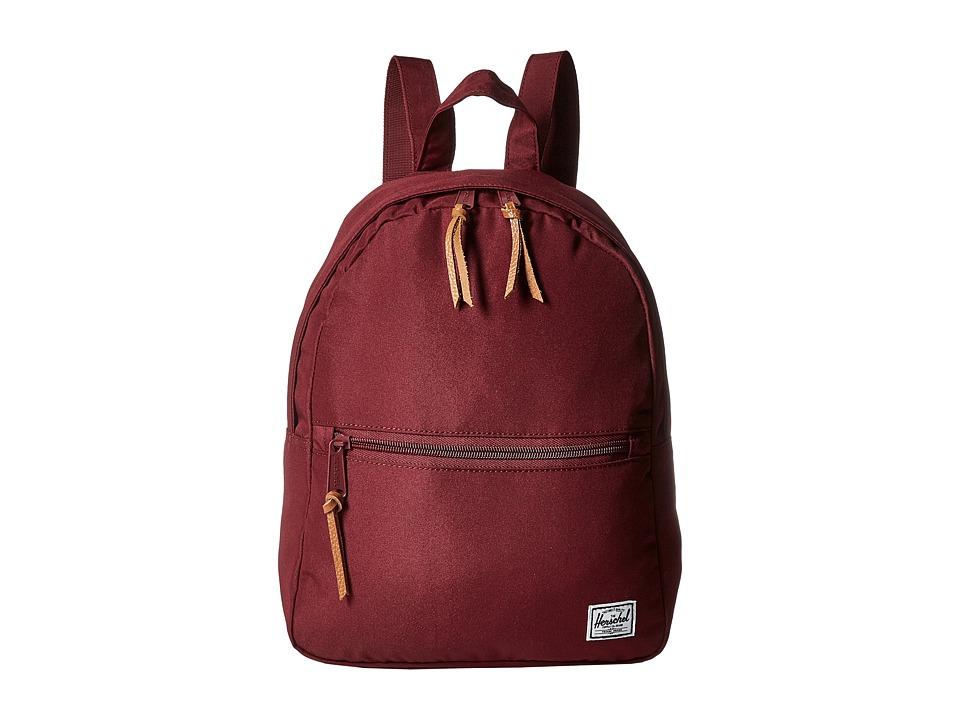 Herschel Supply Co. - Town (Windsor Wine 1) Backpack Bags