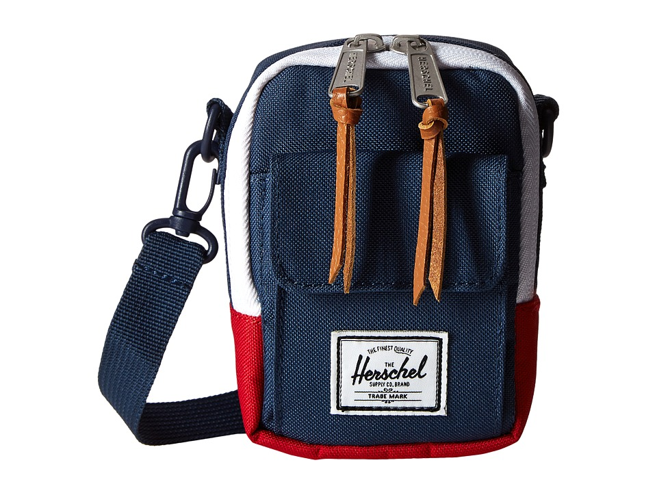 Herschel Supply Co. - Ellison (Navy/Red) Briefcase Bags