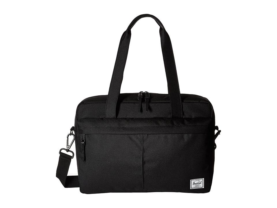 Herschel Supply Co. - Gibson (Black) Shoulder Handbags