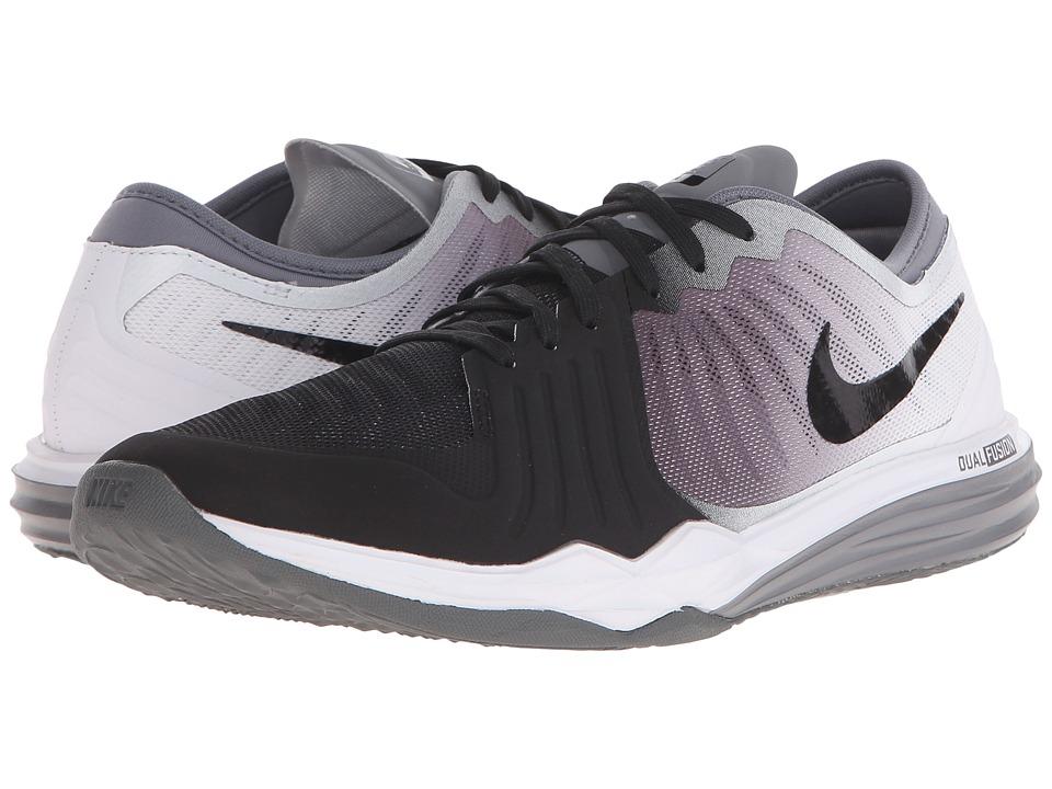 Nike - Dual Fusion TR 4 Print (Black/Cool Grey/White) Womens Cross Training Shoes
