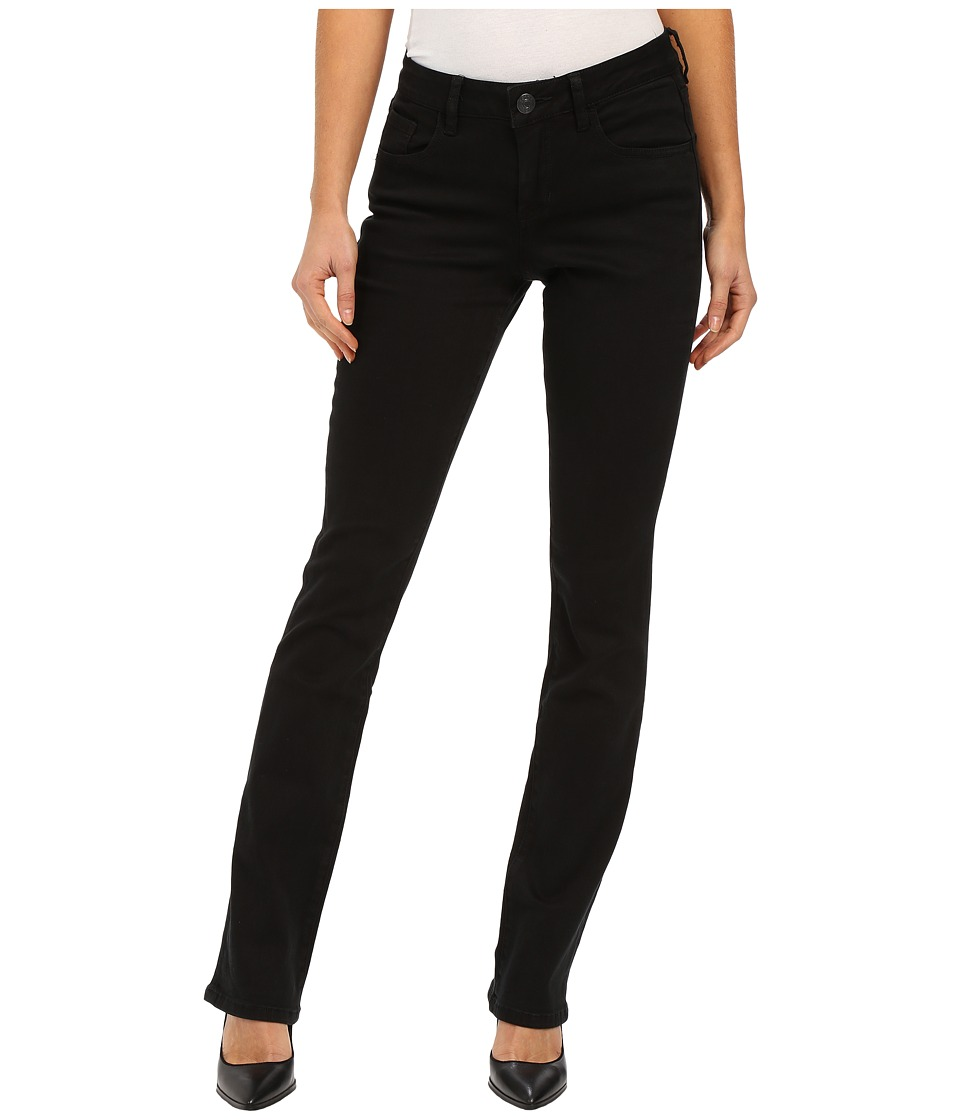 Jag Jeans Marshall Mid Rise Slim Boot Republic Denim in Black Black Womens Jeans