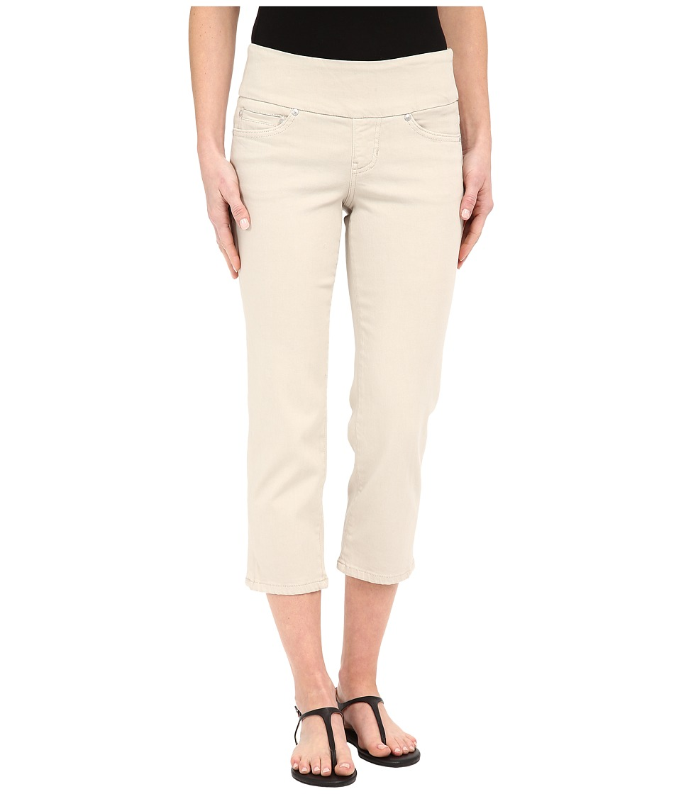 Jag Jeans - Echo Pull-On Classic Fit Crop in Dolce Twill (Stone) Women's Casual Pants