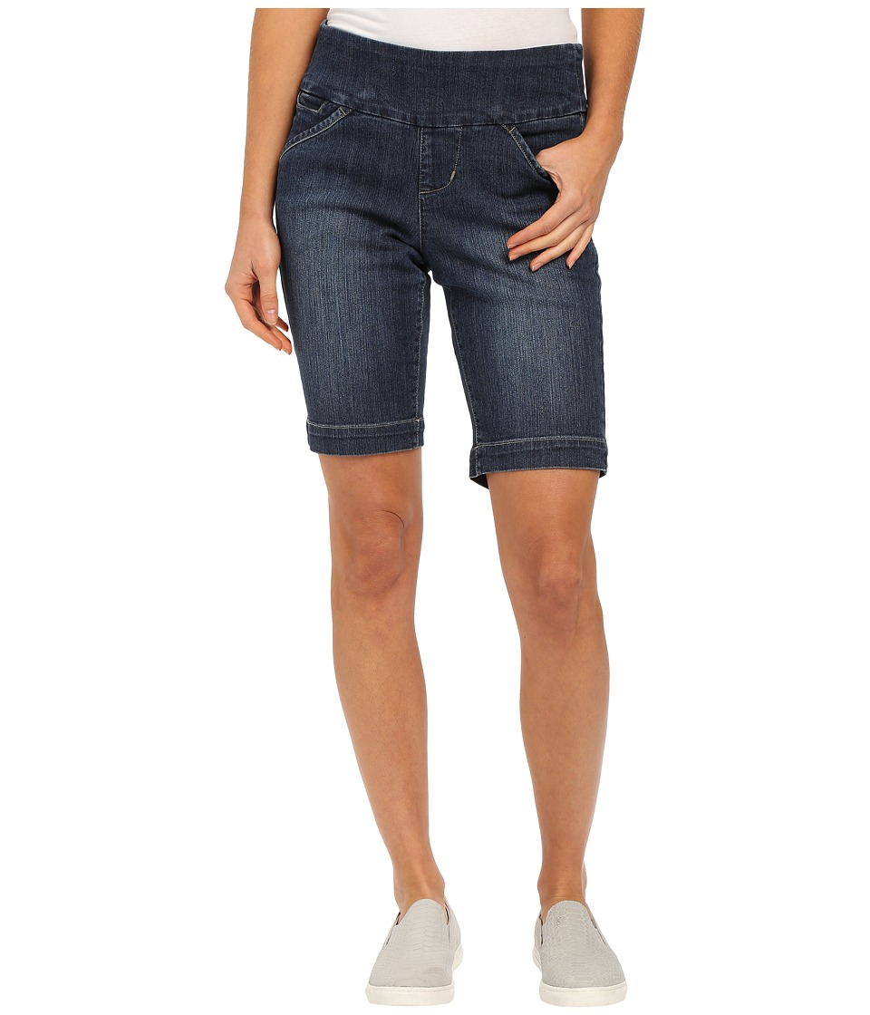 Jag Jeans Ainsley Bermuda Classic Fit Comfort Denim in Anchor Blue Indigo Womens Shorts
