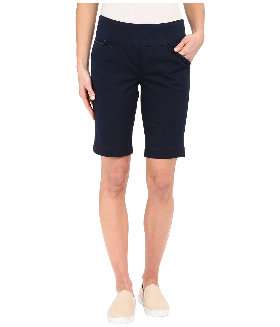 Jag Jeans Ainsley Bermuda Classic Fit Bay Twill Nautical Navy Womens Shorts