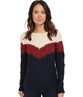 Mavi Jeans - 3 Color Blocking Detailed Sweater