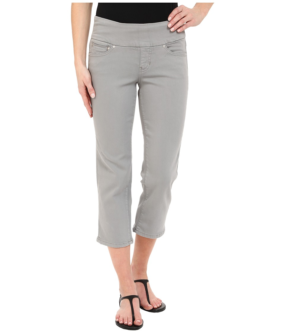 Jag Jeans - Echo Pull-On Classic Fit Crop in Dolce Twill (Fog Grey) Women's Casual Pants