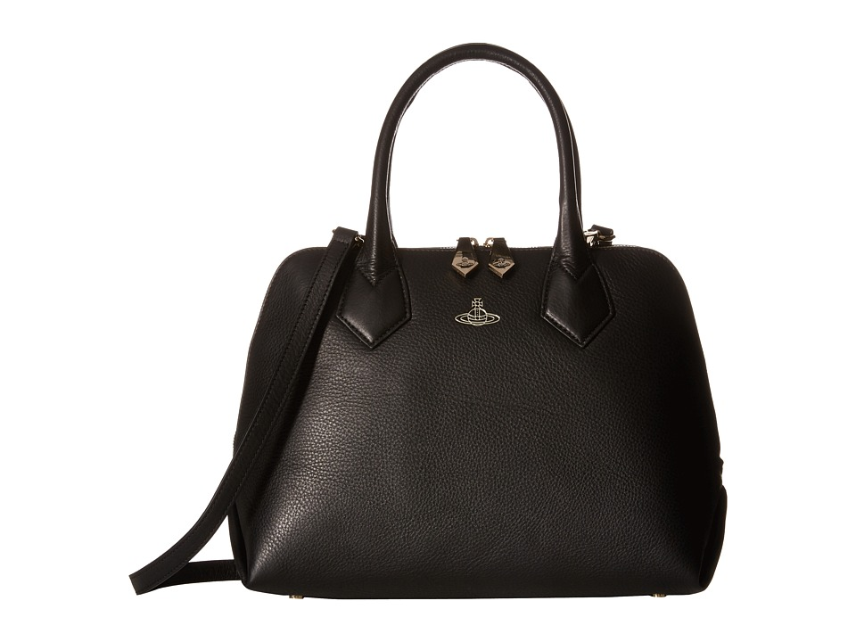 Vivienne Westwood - Spencer (Black) Satchel Handbags