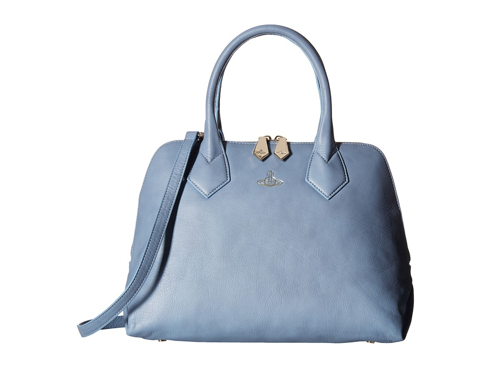 Vivienne Westwood - Spencer (Blue) Satchel Handbags